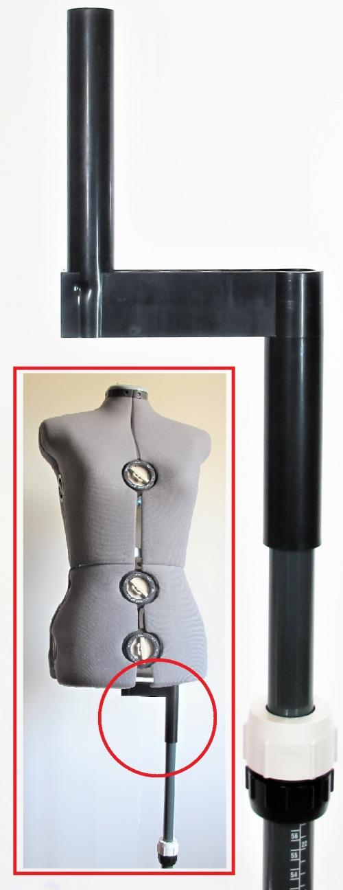 Adapter für Hosen Schneiderpuppe