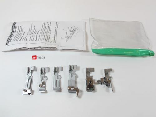 Set 6 Nähfüße  für  lockmaschinen (Happylock)