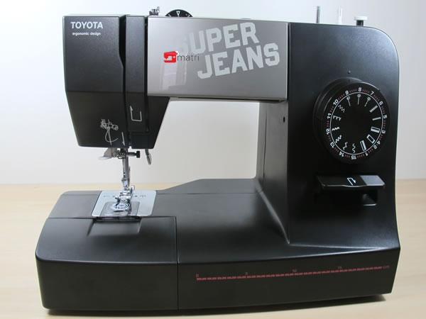 n hmaschine toyota super jeans 15 black n hen sie ber 12. Black Bedroom Furniture Sets. Home Design Ideas