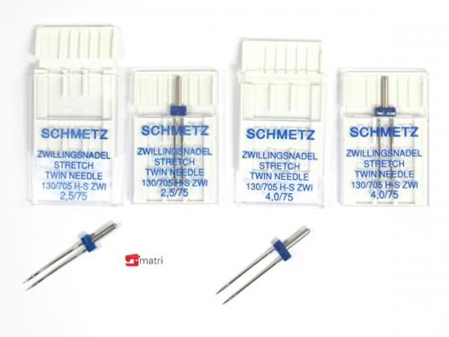 Schmetz Zwillingnadel Paket stretch