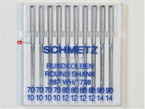 Schmetz Rundkopfnadel 1738 größe 70-80-90